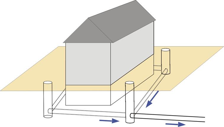 grundst cksentw sserung. Black Bedroom Furniture Sets. Home Design Ideas